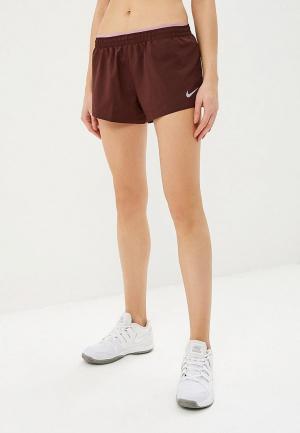 Шорты спортивные Nike WOMENS ELEVATE 3 RUNNING SHORTS. Цвет: коричневый
