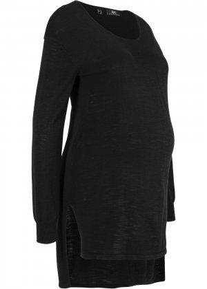 Пуловер для беременных bonprix. Цвет: черный