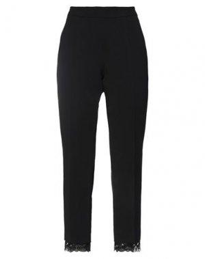 Повседневные брюки FUZZI. Цвет: черный