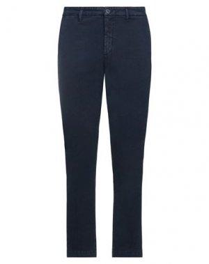 Повседневные брюки BOMBOOGIE. Цвет: темно-синий