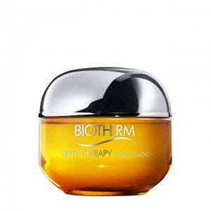 Восстанавливающее крем-масло для лица Blue rapy Biotherm. Цвет: бесцветный