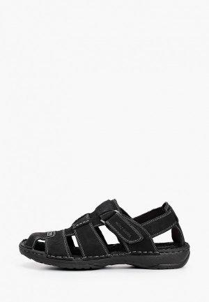 Сандалии Munz-Shoes. Цвет: черный