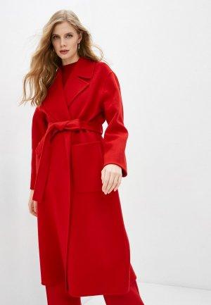 Пальто Michael Kors. Цвет: красный