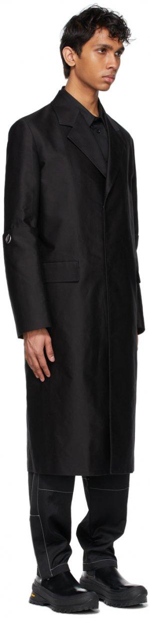 Black Tailored Coat Jil Sander. Цвет: 001 black