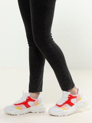 Женские кроссовки Trussardi Jeans. Цвет: multikolor