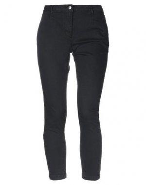 Джинсовые брюки-капри SH by SILVIAN HEACH. Цвет: черный