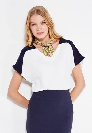 Блуза Levall. Цвет: белый