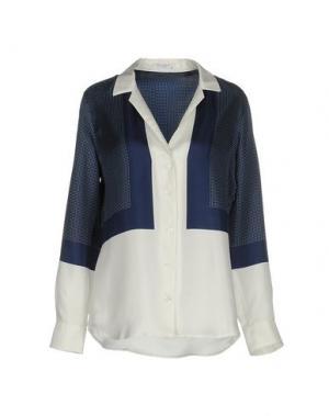 Pубашка EQUIPMENT. Цвет: синий