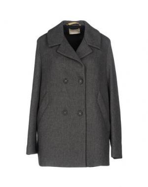 Пальто MOMONÍ. Цвет: серый