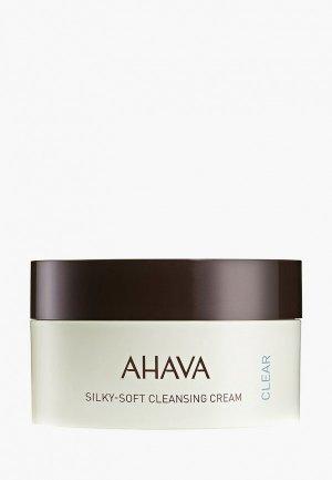 Крем для лица Ahava Time To Clear, очищающий, 100 мл. Цвет: прозрачный