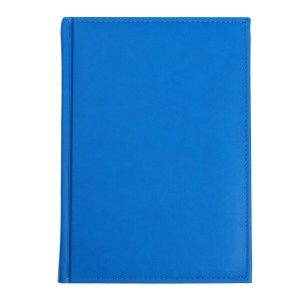 Ежедневник датированный а5 на 2022 год, 168 листов, обложка искусственная кожа vivella, ярко-синий Calligrata