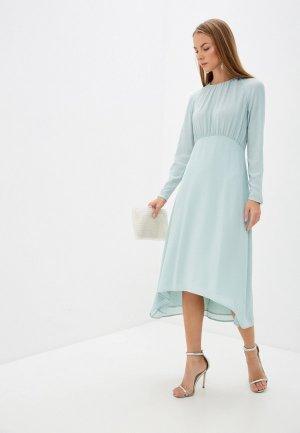 Платье Sisley. Цвет: бирюзовый