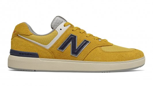 Кроссовки Numeric New Balance. Цвет: желтый