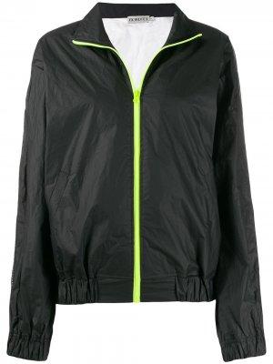 Куртка-бомбер Tyvek Fiorucci. Цвет: черный