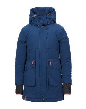 Куртка KHUJO. Цвет: синий
