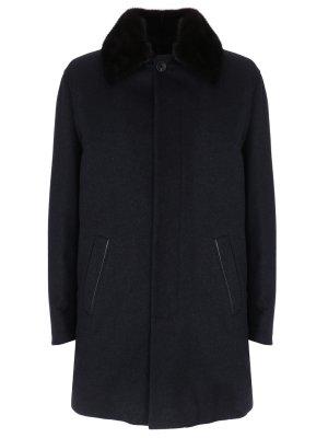 Пальто кашемировое на меху GALLOTTI