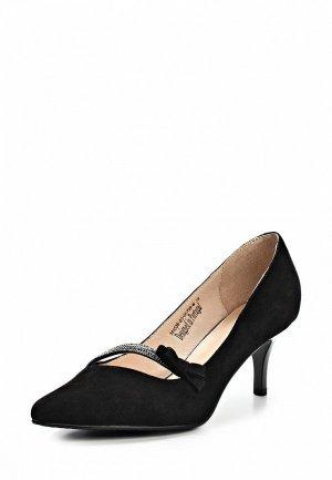 Туфли Clotilde SI293AWCQK09. Цвет: черный