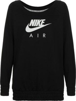 Свитшот женский Air, размер 48-50 Nike. Цвет: черный