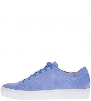 Замшевые кеды на шнуровке Zoe Vagabond. Цвет: синий