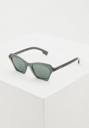 Очки солнцезащитные Burberry BE4283 378271. Цвет: зеленый