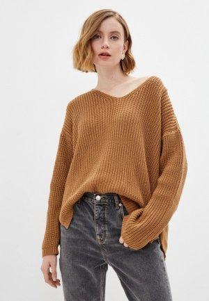 Пуловер Katya Erokhina Marie Brown. Цвет: коричневый