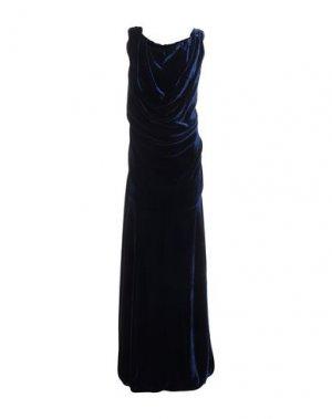 Длинное платье VIVIENNE WESTWOOD. Цвет: синий