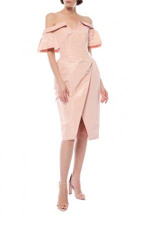 Платье Carolina Herrera. Цвет: розовый