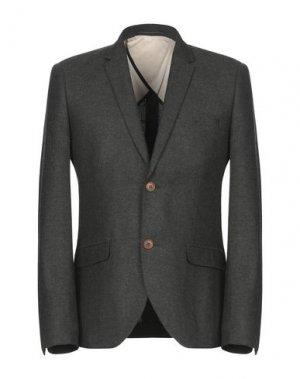 Пиджак SUIT. Цвет: темно-зеленый