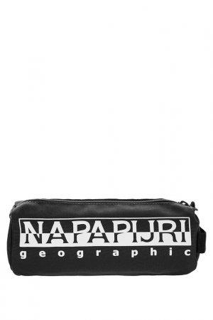 Косметичка Napapijri. Цвет: черный