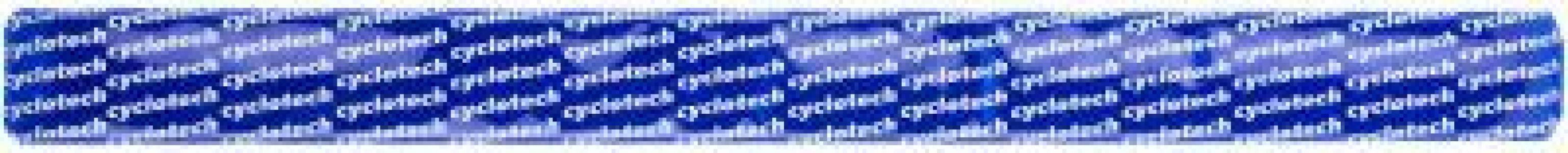 Браслет светоотражающий Cyclotech. Цвет: синий