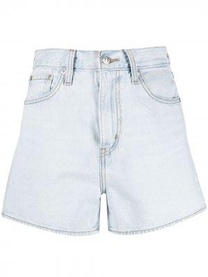 Levis джинсовые шорты Loose с завышенной талией Levi's. Цвет: синий