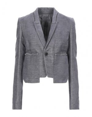 Пиджак RICK OWENS. Цвет: серый