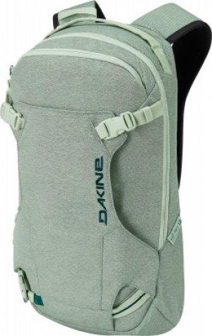 Рюкзак женский HELI PACK, 12 л Dakine. Цвет: зеленый