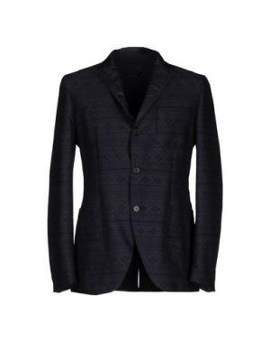 Пиджак SISLEY. Цвет: темно-синий