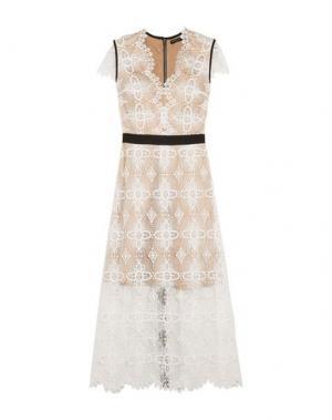 Длинное платье CATHERINE DEANE. Цвет: белый