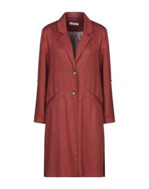 Легкое пальто DEBY DEBO. Цвет: коричневый