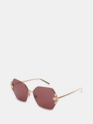 Солнцезащитные очки D&G Underwear. Цвет: rozovyy