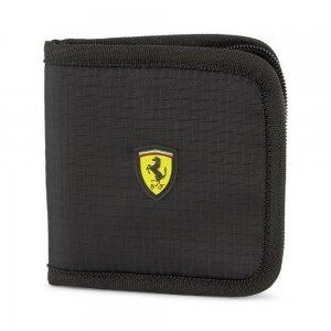 Кошелек Ferrari Race Wallet PUMA. Цвет: черный