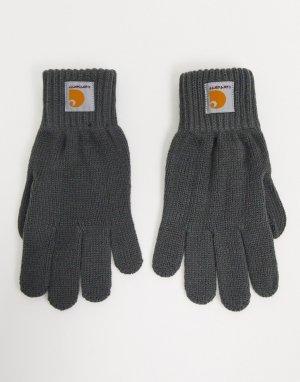 Серые перчатки Watch-Серый Carhartt WIP