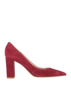 Туфли GIANVITO ROSSI. Цвет: красно-коричневый