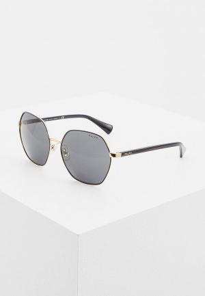 Очки солнцезащитные Ralph Lauren RA4124 933787. Цвет: черный