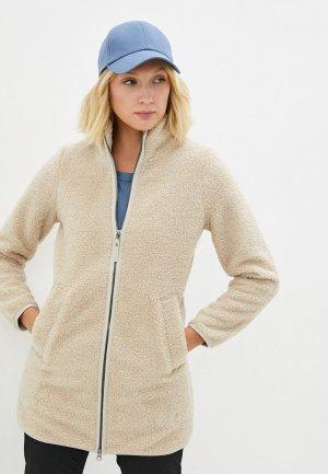 Куртка Jack Wolfskin HIGH CLOUD COAT W. Цвет: бежевый