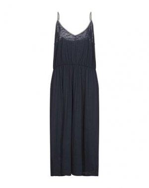 Платье длиной 3/4 GARCIA. Цвет: темно-синий