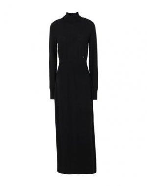 Длинное платье CALVIN KLEIN. Цвет: черный