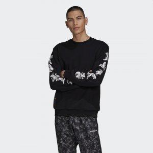 Свитшот Crew Goofy Originals adidas. Цвет: черный
