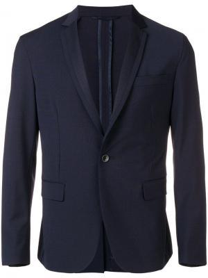 Классический костюмный пиджак Dondup. Цвет: синий