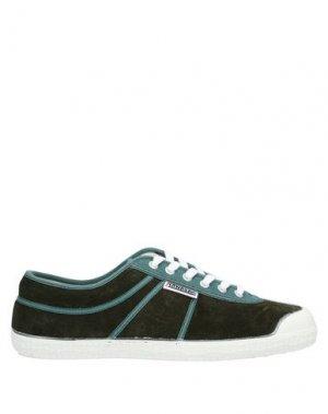 Низкие кеды и кроссовки KAWASAKI. Цвет: темно-зеленый