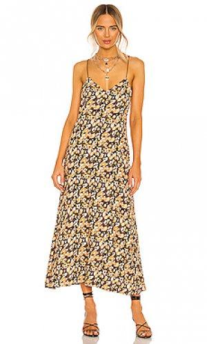 Платье leopard House of Harlow 1960. Цвет: коричневый