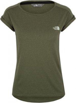 Футболка женская Tanken, размер 46-48 The North Face. Цвет: зеленый