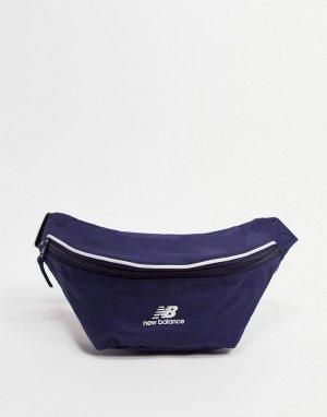 Темно-синяя классическая сумка-кошелек на пояс Classic-Темно-синий New Balance